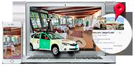 Google Street View inde fra dit firma - Google fotograf